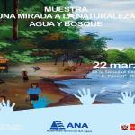 Muestra museográfica divulga cuidado del agua en la Amazonía