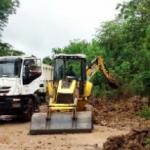 San Martín: Mejoran transitabilidad en zonas críticas