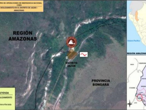 Amazonas: Tránsito restringido en carretera Fernando Belaunde