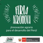 Beneficiarios del Ministerio de Agricultura y Riego participarán en la I Feria de Innovaciones