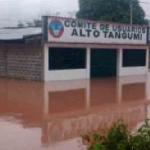 Declaran alerta permanente en San Martín ante inundaciones