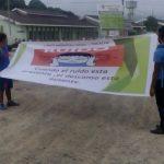 Escolares promueven uso adecuado del claxon en las calles de Tocache