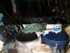 Vraem: Destruyen dos laboratorios de droga y cuatro toneladas de hoja de coca