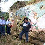 Junín: Instalan mural en el área de conservación Ilish Pichacoto