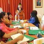 Lideresas indígenas y campesinas se reunieron para conocer proceso de titulación de tierras rurales