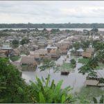 Loreto: Limpian terrenos para reubicar a damnificados por erosión fluvial