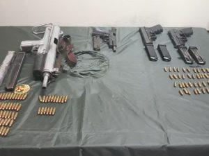 Policía incautó armas en Madre de Dios