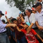 Presidente Vizcarra llegó a San Martín