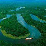 El río Amazonas en alerta amarilla