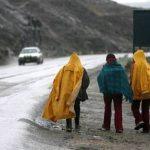 Se esperan lluvias de moderada intensidad con descargas eléctricas en la sierra sur