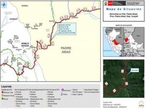 Ucayali: Continúa limpieza de tramo Puente Chino – Puente Aguaytía