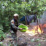 Vraem: Decomisaron 85.900 kg. de cocaína y destruyen laboratorio clandestino