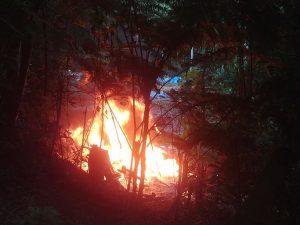 Vraem: Policía destruye laboratorio de cocaína en Ayacucho