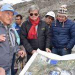 Ancash: Embajador suizo analiza gestión de riesgo en laguna Palcacocha