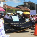 Madre de Dios: Trabajadores de sector Salud acatan huelga indefinida