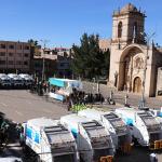 Minam entregó 13 vehículos para mejorar limpieza pública en Juliaca