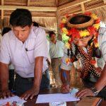 Realizan encuentro de productores indígenas del Perú y Ecuador para mejorar gestión forestal