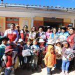 Entregan ropa de abrigo en distrito ayacuchano de Vinchos
