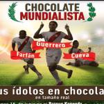 Exhibirán esculturas de futbolistas peruanos en chocolate de zonas excocaleras