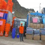 Gobierno entrega 900 toneladas de ayuda humanitaria a regiones afectadas por heladas