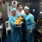 Loreto: A bordo de la PIAS Morona nació el séptimo bebé del Programa PAIS