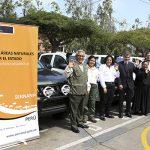 Minam entrega vehículos a guardaparques