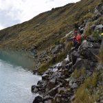 Revisan seguridad de lagunas glaciares ubicadas en la Cordillera Blanca