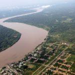 El río Marañón en alerta naranja
