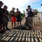 Decomisan 45.1 kilos de alcaloide de cocaína en el Vraem