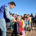 Huancavelica: Entregaron ayuda por friaje en Lircay