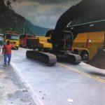 Junín: Habilitan carril para paso de vehículos en tramo Puente Raihter – Pichanaki