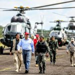 Presidente Martín Vizcarra supervisó operativo antidrogas en Loreto