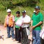 Satipo: Unas 500 familias agricultoras se beneficiarán con mantenimiento de camino vecinal