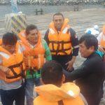 Chimbote: Capacitan a pescadores artesanales en técnicas de supervivencia en mar