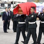 Con honores reciben en Lima restos de policía caído en Madre de Dios