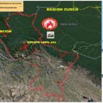 Cusco: Extinguen incendio forestal en distrito de Santa Ana
