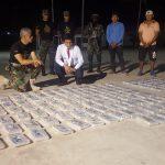 Decomisan 142 kilos de droga en el Vraem