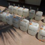 Decomisan unos 374.6 kilos de acetona en el Vraem