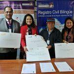 Pueblo Achuar cuenta con registro civil bilingüe en línea