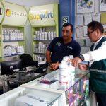 Inspeccionan locales de venta de plaguicidas agrícolas en Ucayali