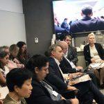 Ministra Fabiola Muñoz dialoga con organismos internacionales sobre conservación ambiental