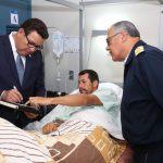 Ministro de Defensa visitó a militares heridos en exitosa operación en el Vraem