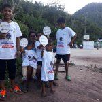Niños pueden practicar ping pong en Satipo