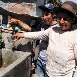 Nueve centros poblados de Chungui, Concepción y Vinchos con agua clorada