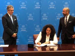 Perú firmó hoy el Acuerdo de Escazú