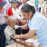 San Martín: Santa Rosa de Mishollo recibió caravana por el desarrollo