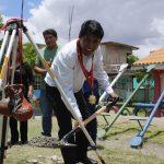 Ayacucho: Inician construcción de escuela en distrito de Jesús Nazareno