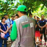 Cacaoteros de Leoncio Prado visitan el Monzón