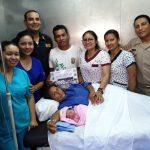 Loreto: Nace bebé a bordo del BAP Morona y se evacua de emergencia a gestante