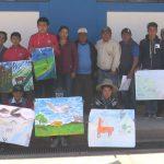 Santiago de Chuco: Sernanp realizó concurso de dibujo y pintura